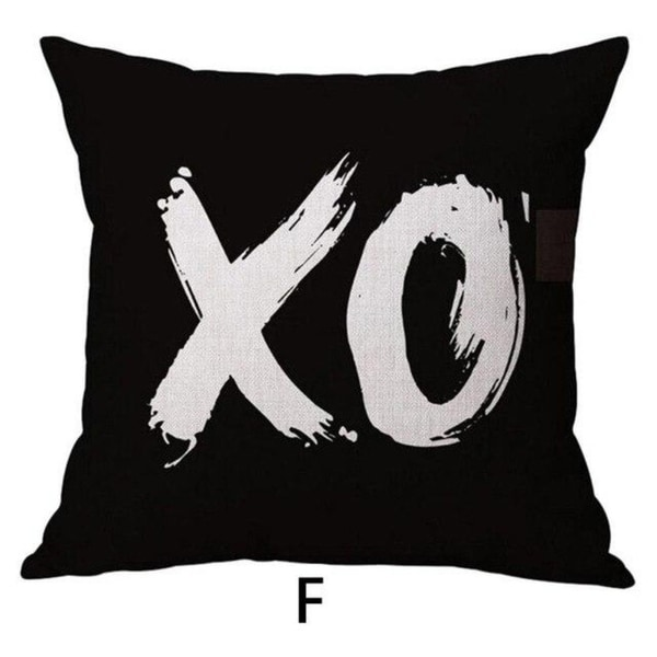 DO WHAT YOU LOVE Printed Throw Pillow Case 45x45cm 21303345-687
