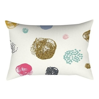 Linen Pink small fresh printing square pillowcase 21304759-728