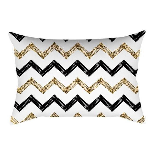 Linen Pink small fresh printing square pillowcase 21304759-741