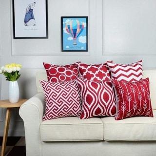 6PC/Set Home decor Decorative Pillowcase 18X 18cm 21298671-308