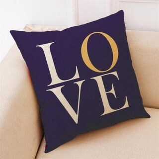 Letter Love Geometry Throw Pillowcase Pillow Covers 14475815-123