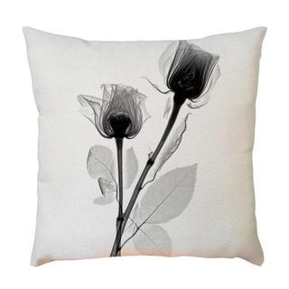 Plant Flower Pattern Throw Pillow Case 45x45cm 21302588-577