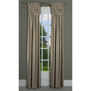 "RT Dressings Chelsea Brook Luxe Cotton Shimmer Single Curtain Panel - 15"" wide x 95"" length"