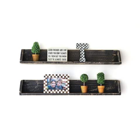 Set of Two Floating Shelves