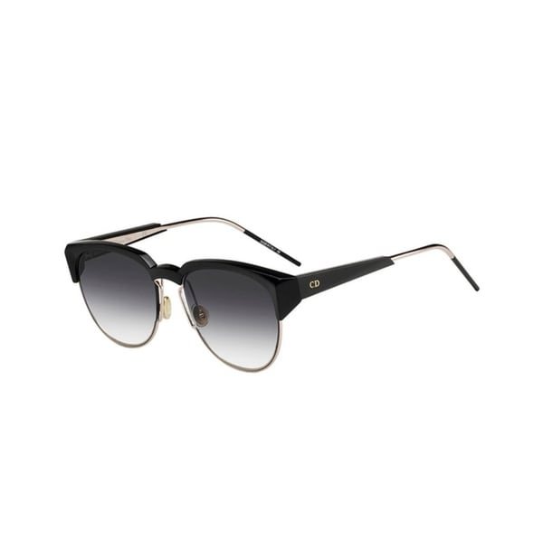 defa824573 Shop Christian Dior Spectral Women s Black Grey Plastic Sunglasses - Free  Shipping Today - Overstock - 25593793