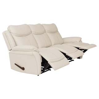 ProLounger 3 Seat Faux Leather Recliner Sofa