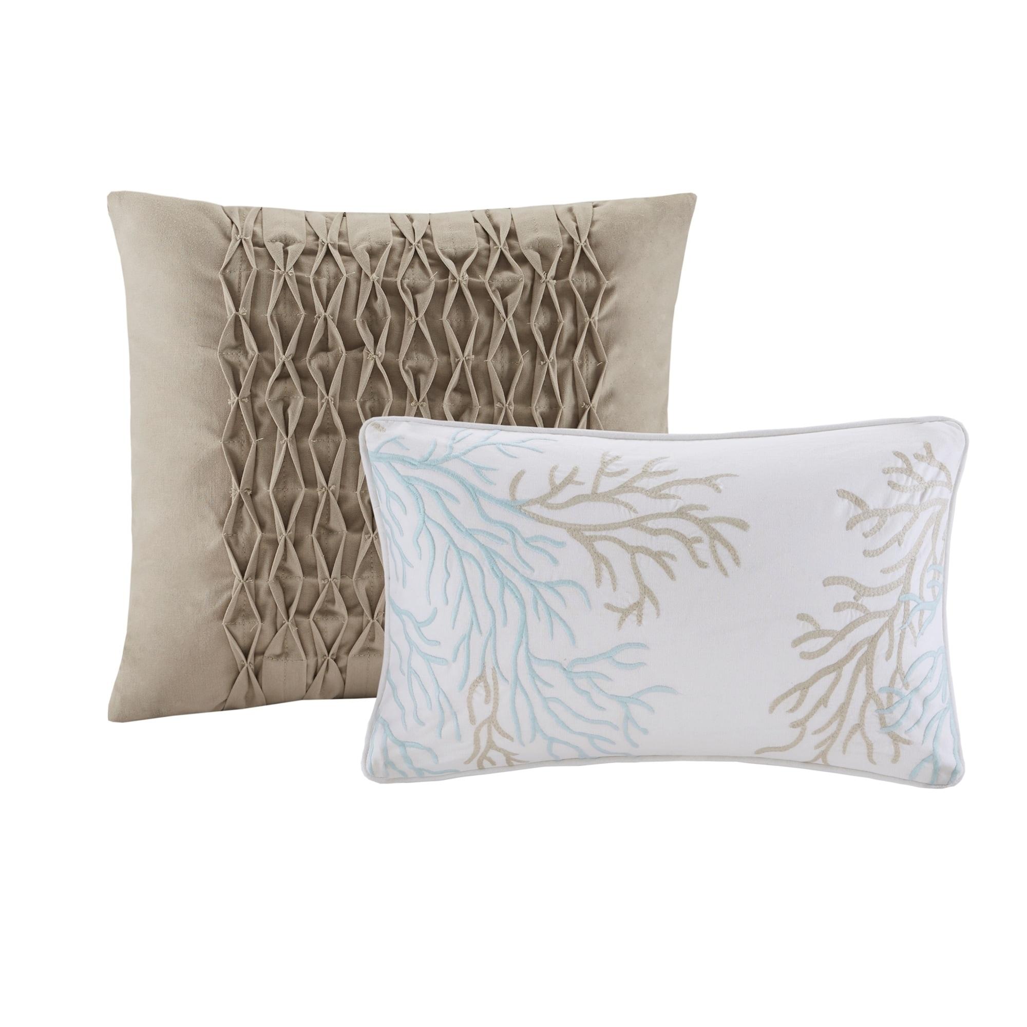 Harbor House Ocean Reef Seafoam Green 6 Piece Quilted Reversible Comforter Set Overstock 25596114