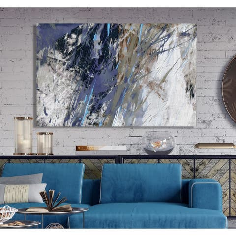 Blue Noise I -Premium Gallery Wrapped Canvas
