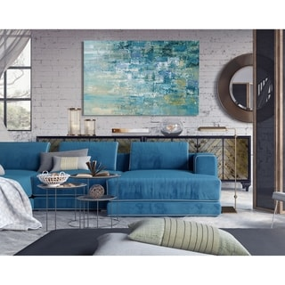 I Love the Rain Detail II -Premium Gallery Wrapped Canvas