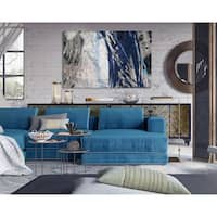 Blue Noise II -Premium Gallery Wrapped Canvas