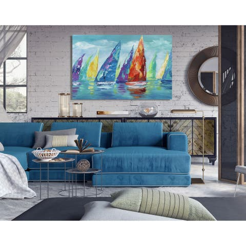 Fine Day Sailing II -Premium Gallery Wrapped Canvas