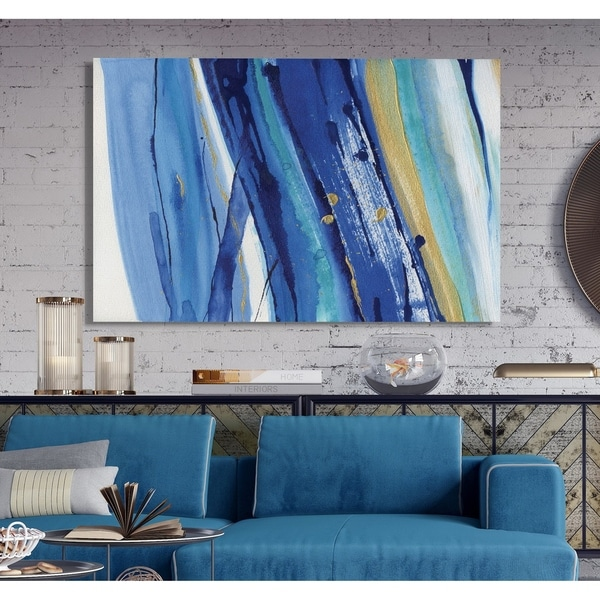Waterfall II -Premium Gallery Wrapped Canvas