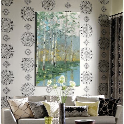 Birch Reflections III -Premium Gallery Wrapped Canvas