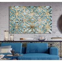 Gilded Geometrics II -Premium Gallery Wrapped Canvas