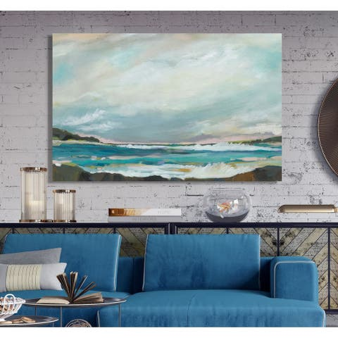 Seaside View III -Premium Gallery Wrapped Canvas
