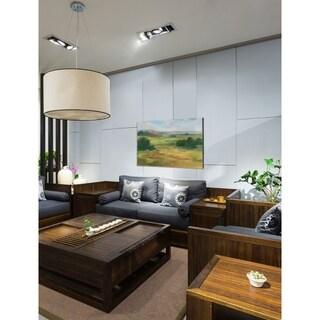 Botanical in Indigo III -Premium Gallery Wrapped Canvas