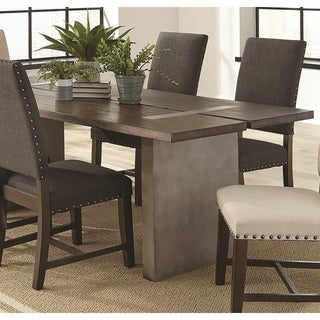 Crafted Danish Spaced Slat Design Dining Table