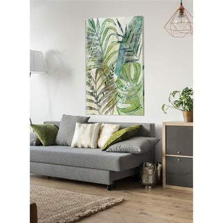 LayeredPalms I  -Premium Gallery Wrapped Canvas