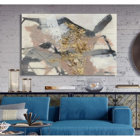 Golden Blush I -Premium Gallery Wrapped Canvas