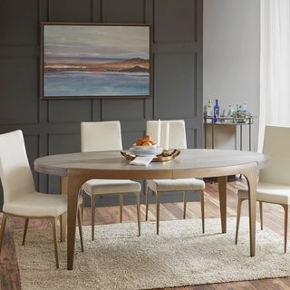"Madison Park Callaway Grey Dining Table - 76""w x 40""d x 30""h"
