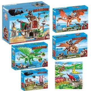PLAYMOBIL Kids Dreamworks Dragon Mega Toys Set Indoor Games - Multi-color