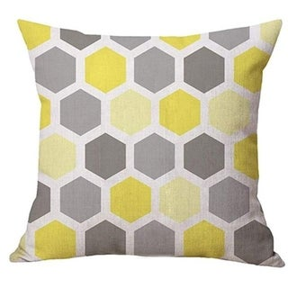Geometry Simple Cafe Sofa Waist Throw Cushion Cover 21301988-517
