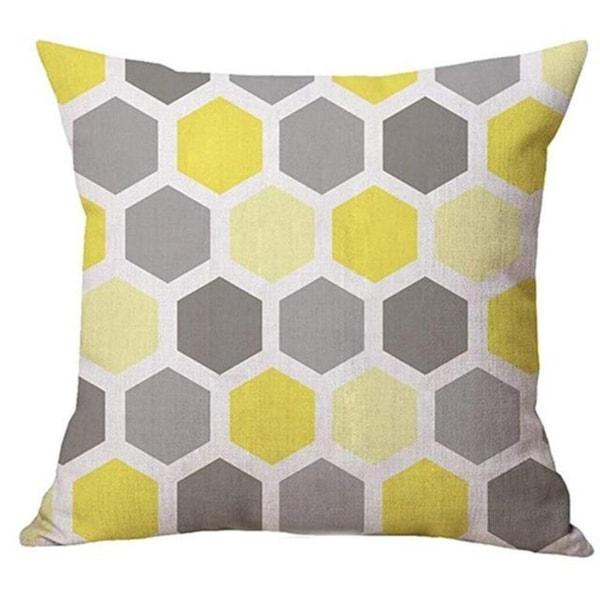 Geometry Simple Cafe Sofa Waist Throw Cushion Cover 21301988-517