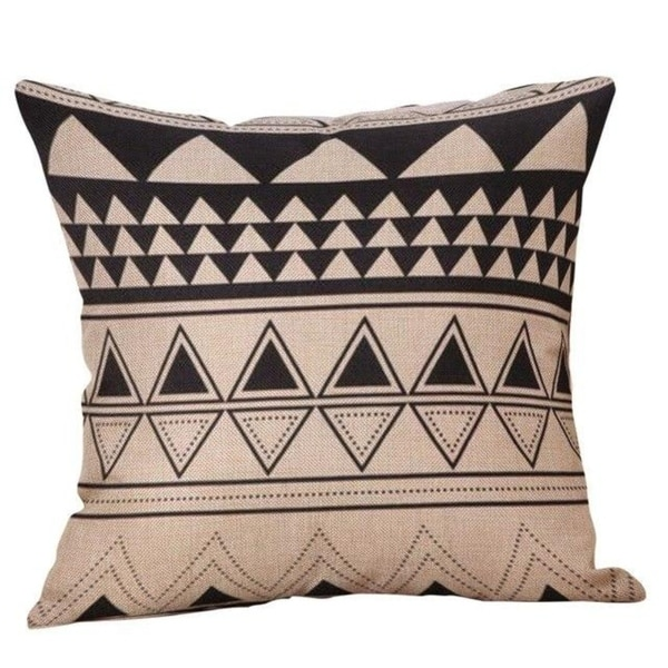 Yellow Geometric Fall Autumn Decorative Pillowcases 21303099-647