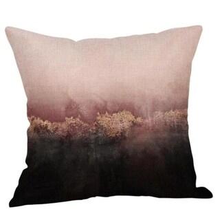 Coffee Print Ocean Beach Sea Cotton Linen Pillow Case 16466462-180