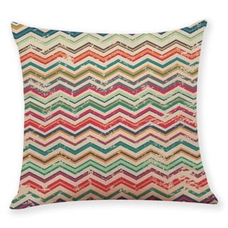 Geometric wave pattern Throw Pillow Case 45x45cm 21304800-763