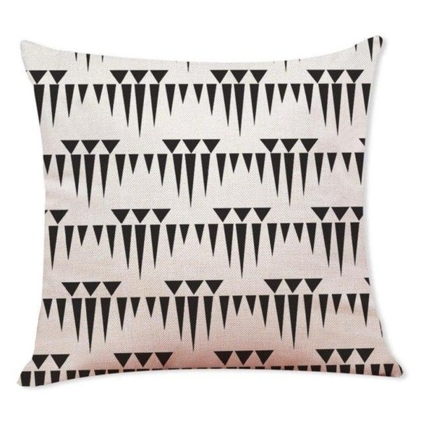 Black And White Geometry Throw Pillowcase Pillow Covers 21301520-406