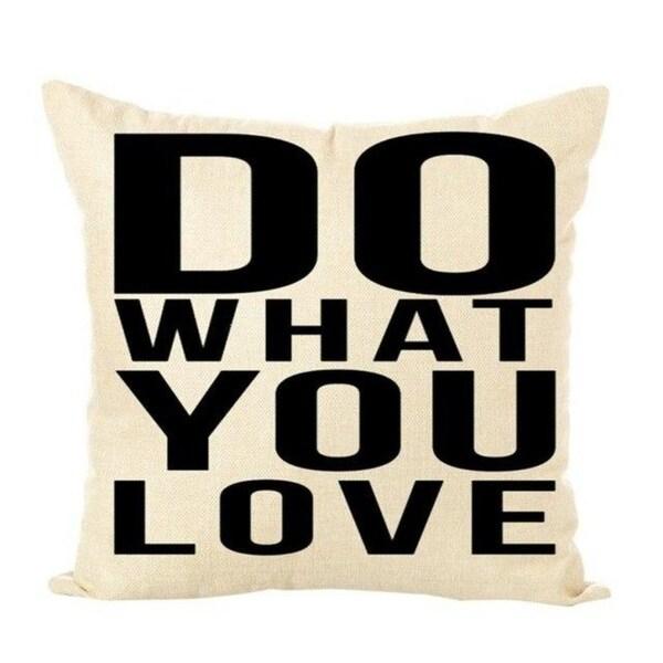Throw Pillow Case Linen Cotton Decorative Pillows Cover 21303277-665