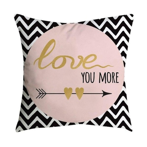 7 Top Tips For Throwing A Grand Party In A Small Home: Shop Pillowcases Pink Small Fresh Printing Square