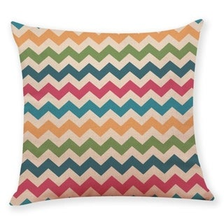 Geometric wave pattern Throw Pillow Case 45x45cm 21304800-759