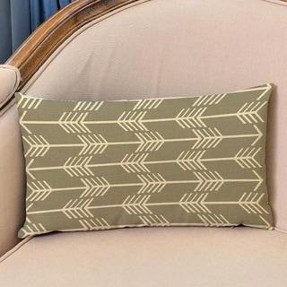 Arrow Print Cushion Cover Linen Pillowcases 16163467-140