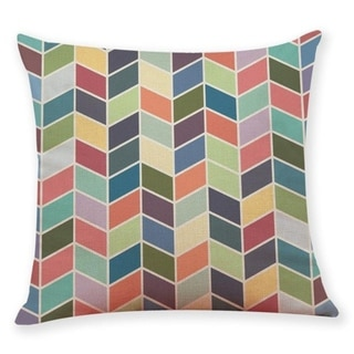 Geometric wave pattern Throw Pillow Case 45x45cm 21304800-761
