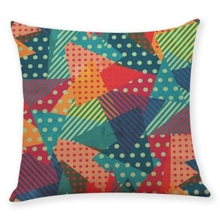 Geometric wave pattern Throw Pillow Case 45x45cm 21304800-764