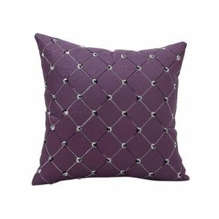 Sofa Bed Decor Plaids Throw Pillow Case Square Pillowcase 13930765-82