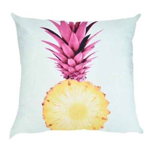 Pineapple pattern print Polyester Sofa Car Cushion Cover 21305063-825