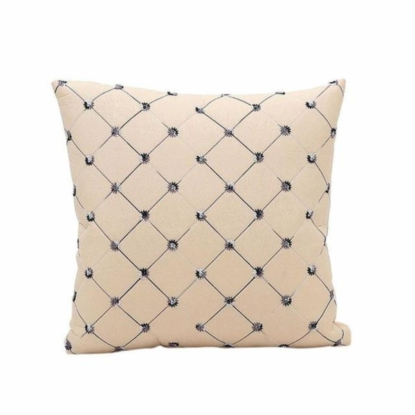 Sofa Bed Decor Plaids Throw Pillow Case Square Pillowcase 13930765-77