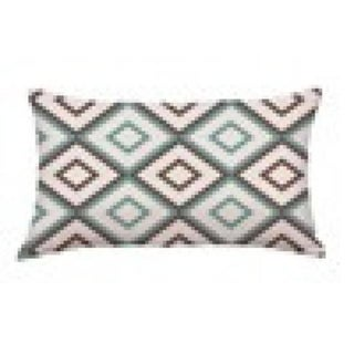 Geometric Cushion Cover Letters Pattern Pillow Case 20501220-259