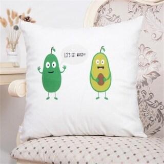 Avocado pattern Throw Pillow Case 45x45cm Home Decor 19492495-235