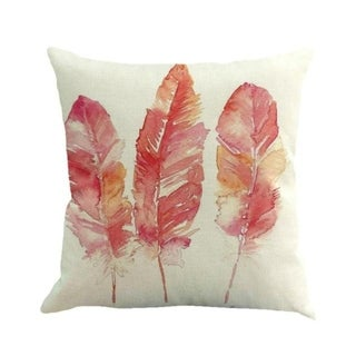 Feather Printed Sofa Bed Home Decor Pillow Case 45x45cm 13885245-73