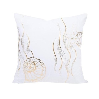 Gold Foil Printing Pillow Case Bronzing Cushion Cover 21302766-593