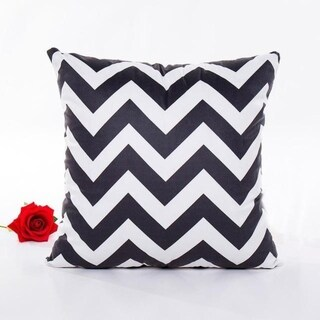 Ouneed Black & white Polyester Throw Pillow Case 43x43cm 16473708-194