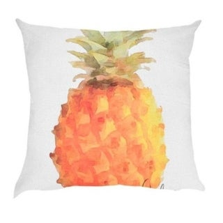 Pineapple pattern print Polyester Sofa Car Cushion Cover 21305063-826