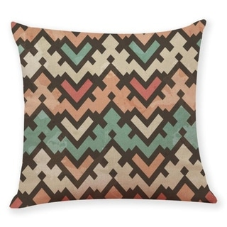 Geometric wave pattern Throw Pillow Case 45x45cm 21304800-762