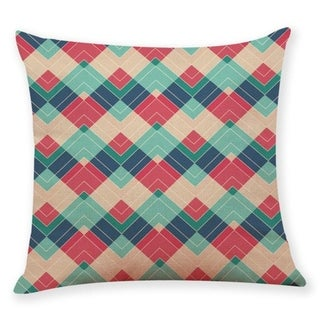 Geometric wave pattern Throw Pillow Case 45x45cm 21304800-767
