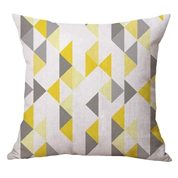 Geometry Simple Cafe Sofa Waist Throw Cushion Cover 21301988-519