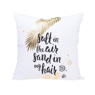 Gold Foil Printing Pillow Case Bronzing Cushion Cover 21302766-592